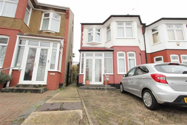 Thumbnail Semi-detached house for sale in Farm Road, Winchmore Hill, London