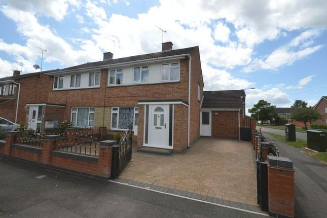 Thumbnail Semi-detached house for sale in Nyland Road, Swindon