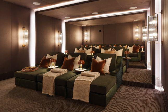 Cinema of Whistler Square, Chelsea Barracks, Belgravia, London SW1W