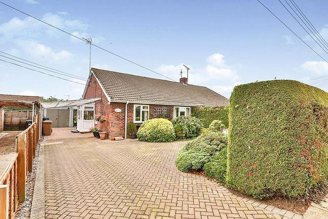 Thumbnail Semi-detached bungalow for sale in Heath Lane, Fakenham