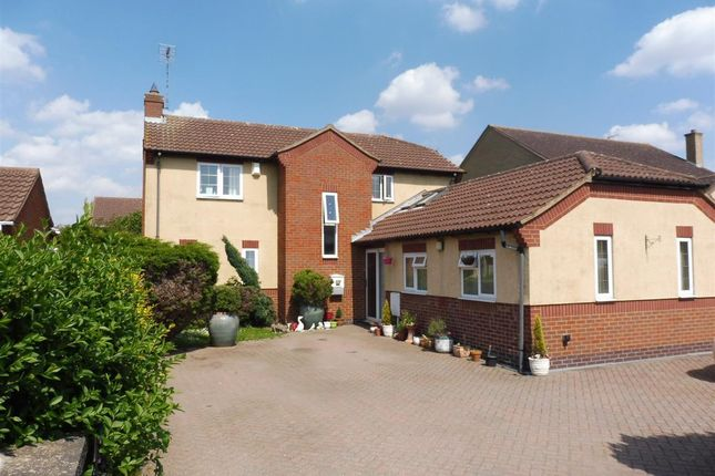 Thumbnail Detached house to rent in Stonald Road, Whittlesey, Peterborough