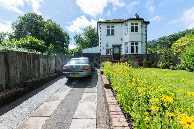 Thumbnail Detached house for sale in Caerleon Road, Newport, Gwent.