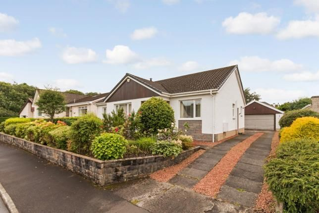 Thumbnail Bungalow for sale in Station Wynd, Kilbarchan, Johnstone