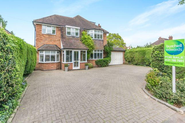 Thumbnail Detached house for sale in Beechwood Park Road, Solihull