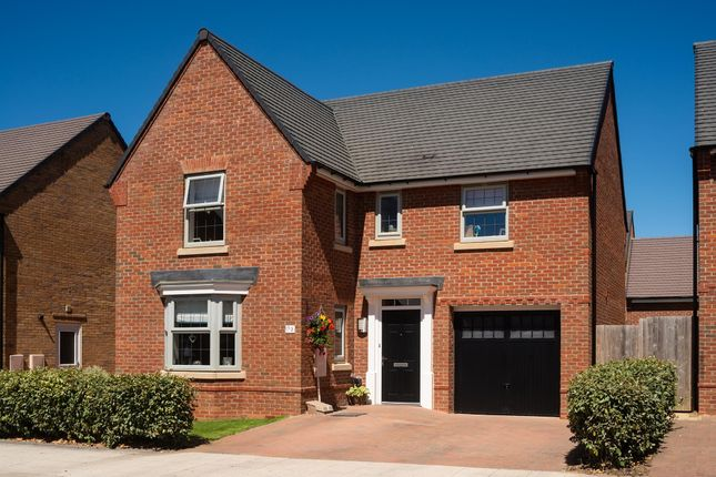 "Thumbnail Detached house for sale in ""Drummond"" at Michaels Drive, Corby"