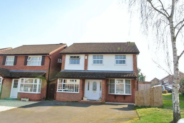 Thumbnail Detached house for sale in Shackleton Close, Churchdown, Gloucester