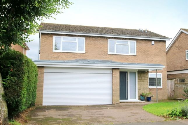 Thumbnail Detached house for sale in Kipling Place, Eaton Ford, St. Neots