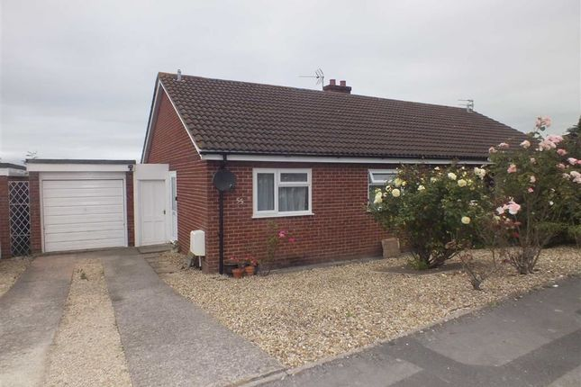Thumbnail Semi-detached bungalow for sale in Castle View, Westbury, Wiltshire