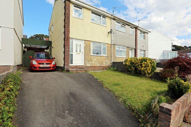 Thumbnail Semi-detached house for sale in Heol Brynhyfryd, Llantwit Fardre, Pontypridd
