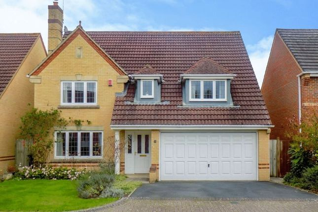 Thumbnail Detached house for sale in Upton Close, Swindon