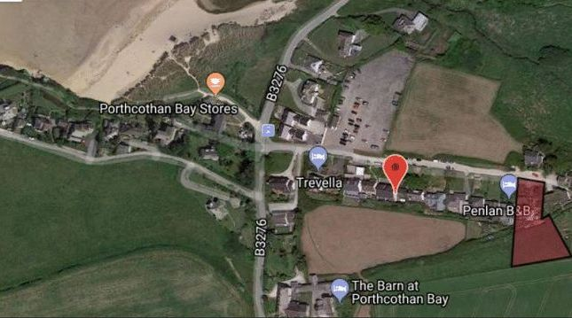 Thumbnail Detached bungalow for sale in Porthcothan Bay, Padstow