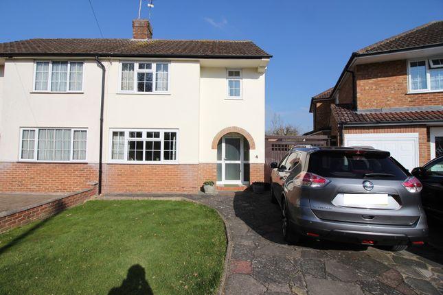 Thumbnail Semi-detached house for sale in Ellenbrook Crescent, Hatfield