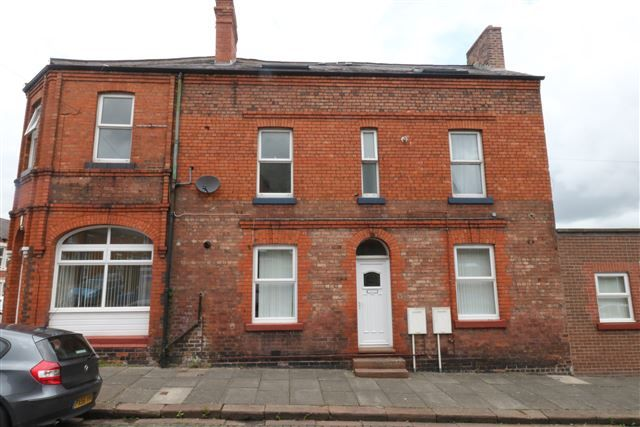 Thumbnail Flat to rent in Leatham Street, Carlisle, Cumbria