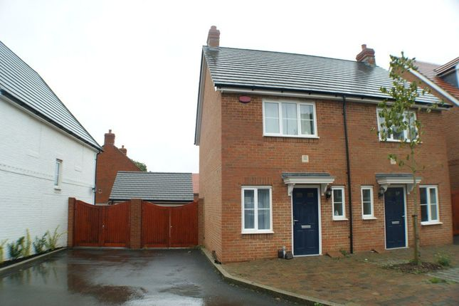 Thumbnail Terraced house to rent in Poppy Mead, Bridgefield