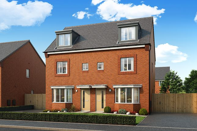 "Thumbnail Property for sale in ""The Rathmell"" at Central Avenue, Speke, Liverpool"