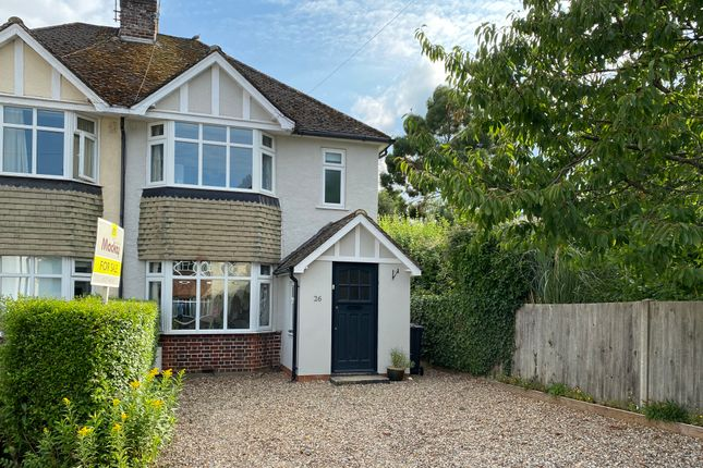 Thumbnail Semi-detached house for sale in Pinelands, Bishop's Stortford