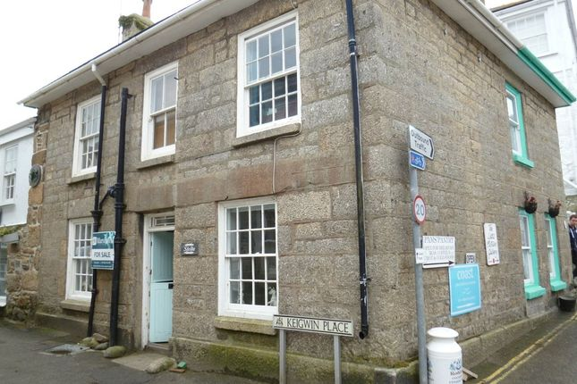 Thumbnail End terrace house for sale in Keigwin Place, Mousehole, Penzance