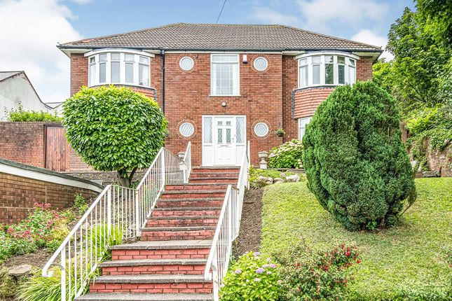 Thumbnail Detached house for sale in Hilltop Road, Oakham, Dudley