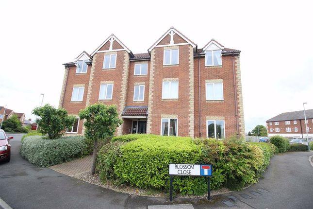 Thumbnail Flat to rent in Blossom Close, Darlington