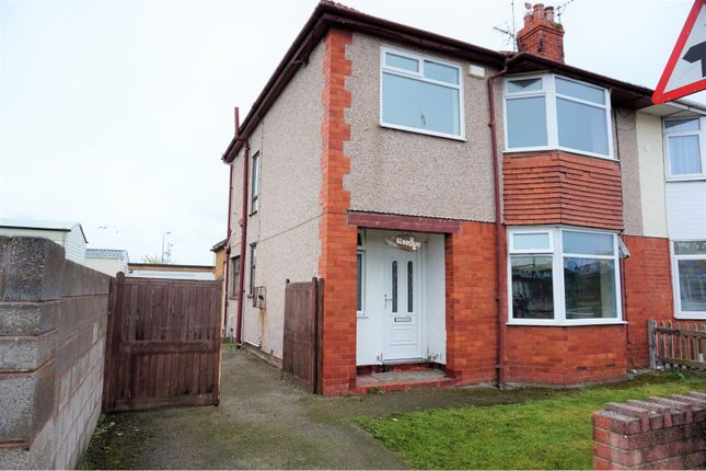 3 bed semi-detached house for sale in Sandbank Road, Towyn