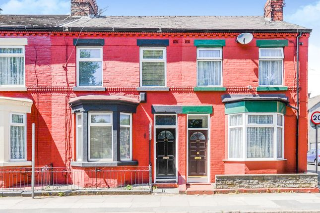 Thumbnail Terraced house for sale in Wellington Road, Wavertree, Liverpool