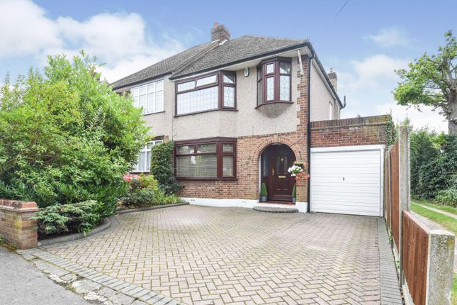Thumbnail Semi-detached house for sale in Shepherds Hill, Romford