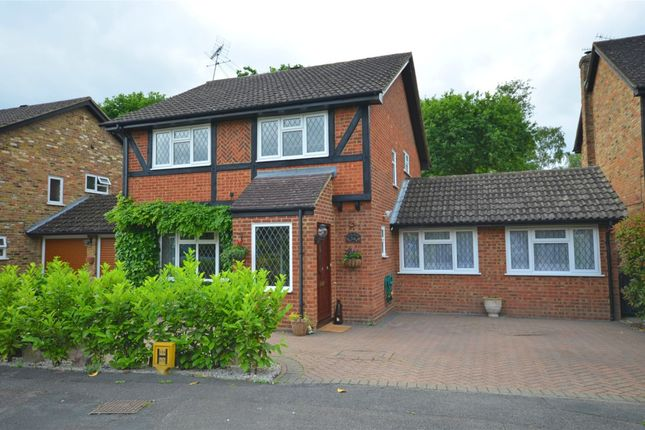 Thumbnail Detached house for sale in Henley Drive, Frimley Green, Camberley, Surrey