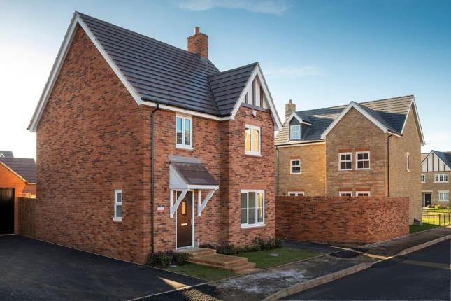 Thumbnail Detached house for sale in Buckton Fields Home Farm Drive, Boughton, Northampton, Northamptonshire