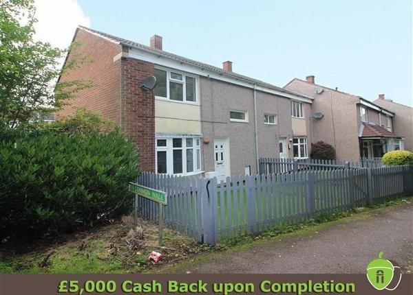 Thumbnail End terrace house for sale in Common Walk, Huntington, Cannock