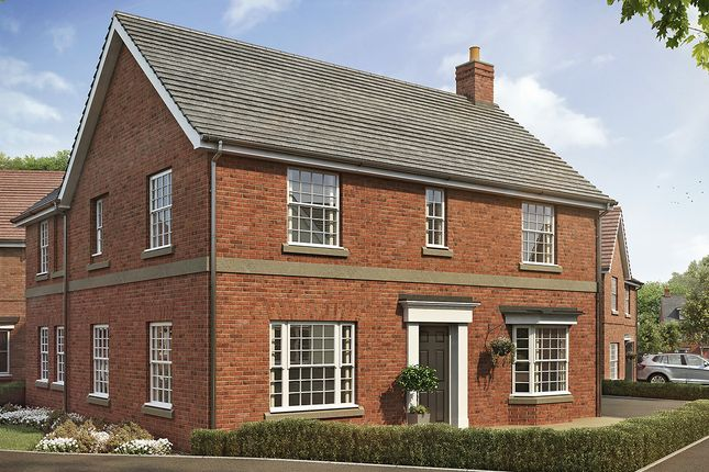 Thumbnail Detached house for sale in Fairway Meadows, Ullesthorpe, Lutterworth