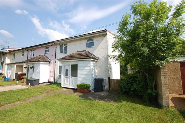 Thumbnail End terrace house to rent in Exchange Road, Stevenage, Hertfordshire