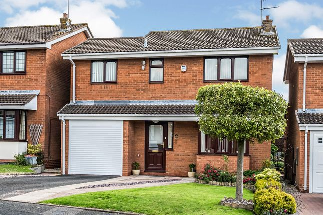 Thumbnail Detached house for sale in Gainsborough Place, Milking Bank, Dudley