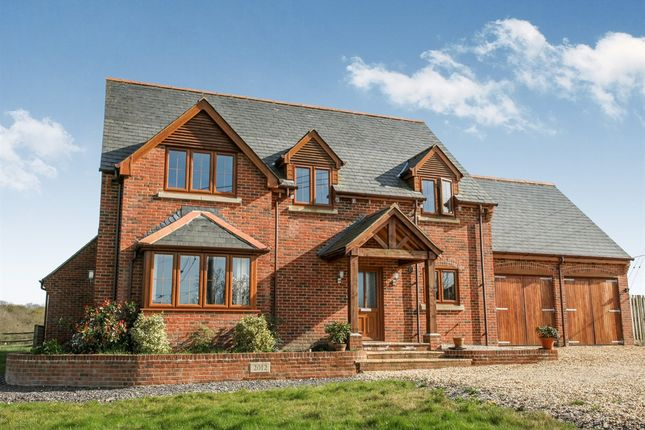 Thumbnail Detached house for sale in Wellow Wood Road, West Wellow, Romsey