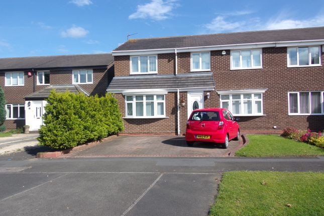 Thumbnail Semi-detached house for sale in Hampton Close, Cramlington