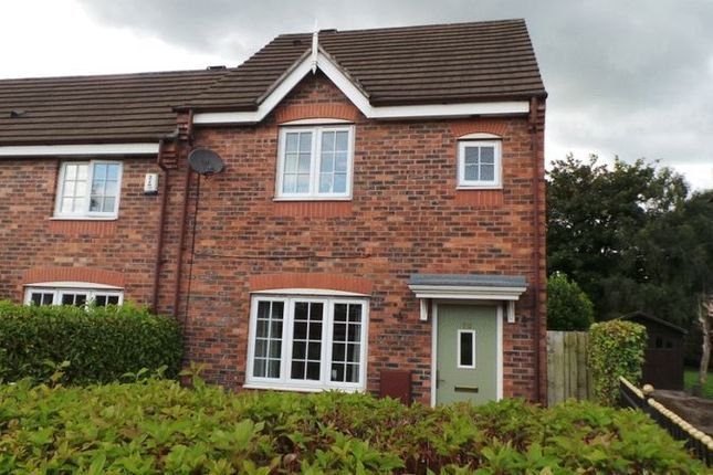 Thumbnail 3 bed semi-detached house for sale in Barn Flatt Close, Higher Walton, Preston
