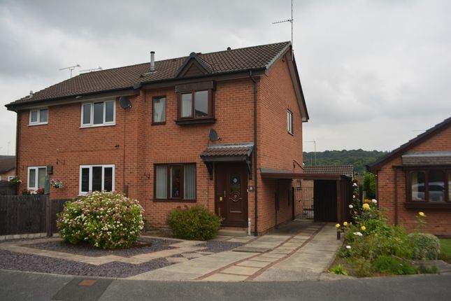 2 bed semi-detached house for sale in Berry Holme Close, Chapeltown