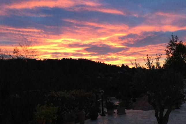 Sunset  of Allee Du Petit Lander, Sarlat-La-Canéda (Commune), Sarlat-La-Canéda, Dordogne, Aquitaine, France