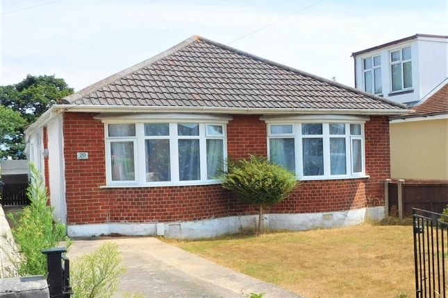 Thumbnail Bungalow for sale in Woodlands Avenue, Hamworthy, Poole, Dorset