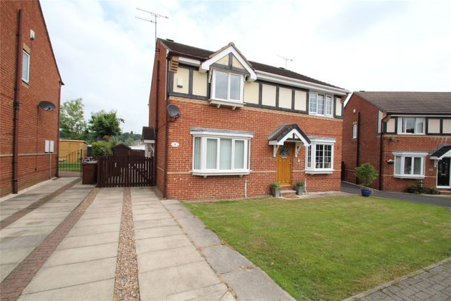 Thumbnail Semi-detached house to rent in The Haverlands, Hemsworth, Pontefract, West Yorkshire