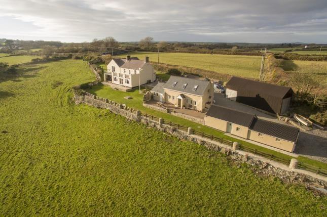 Thumbnail Detached house for sale in Trefdraeth, Bodorgan, Ynys Mon, North Wales