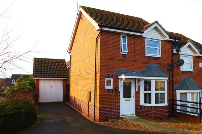 Thumbnail Semi-detached house to rent in Victory Way, Sleaford