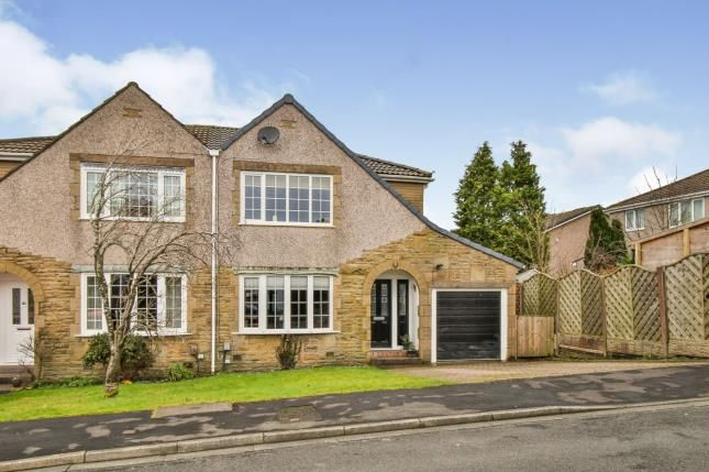 Thumbnail Semi-detached house for sale in Copperfield Close, Worsthorne, Burnley, Lancashire