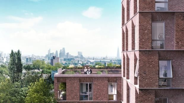 Thumbnail Flat for sale in Hampstead Green Place, Rowland Hill Street, Hampstead, London