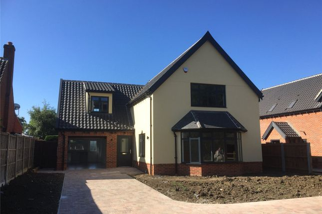 Thumbnail Detached house for sale in Plots 1 - 4 Burston Road, Dickleburgh, Diss