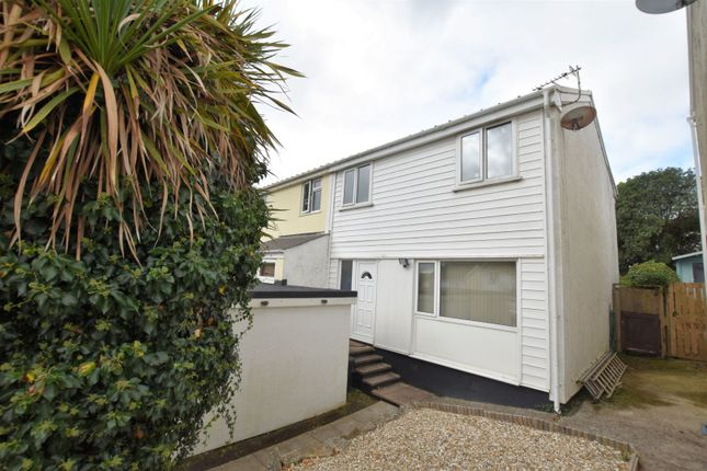 Thumbnail Semi-detached house for sale in Northey Close, Truro