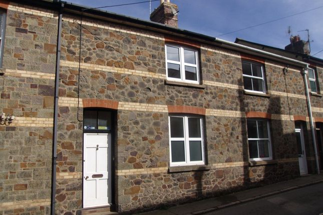 Thumbnail Terraced house to rent in Market Street, North Tawton