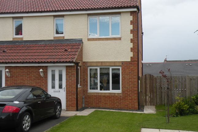 Thumbnail Semi-detached house to rent in Haydon Drive, Wallsend