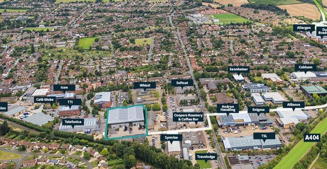Thumbnail Warehouse to let in Marlow, Duo Fieldhouse Lane, Marlow, Bucks 1Ls, Bucks