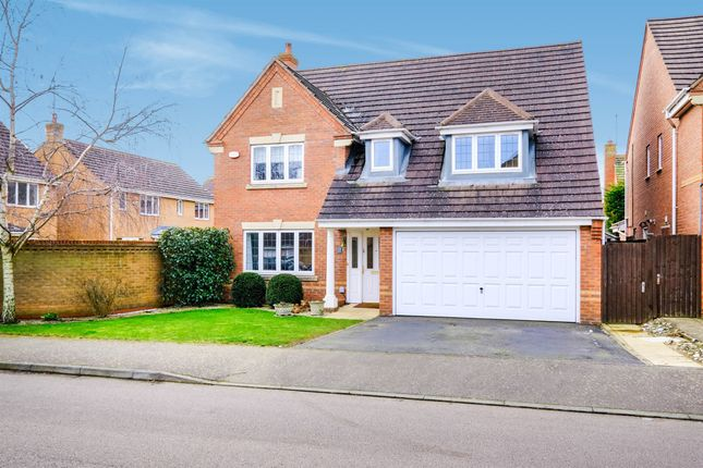 4 bed detached house for sale in Villa Way, Wootton, Northampton NN4