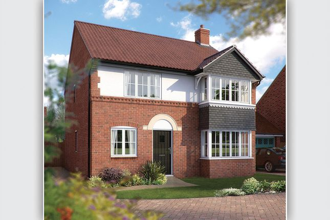 "Thumbnail Detached house for sale in ""The Canterbury"" at Wall Hill, Congleton"